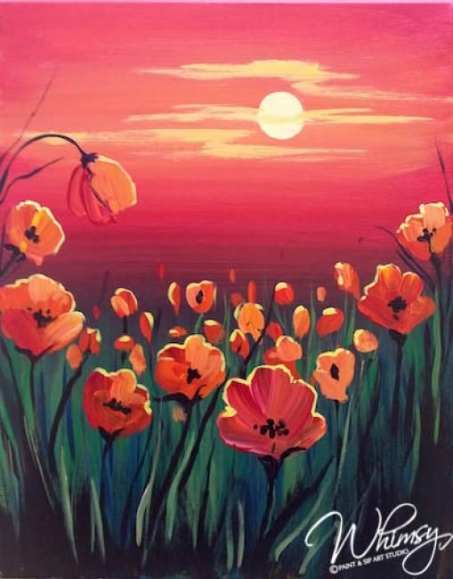 Image Result For Paint Night Ideas Spring Painting Night