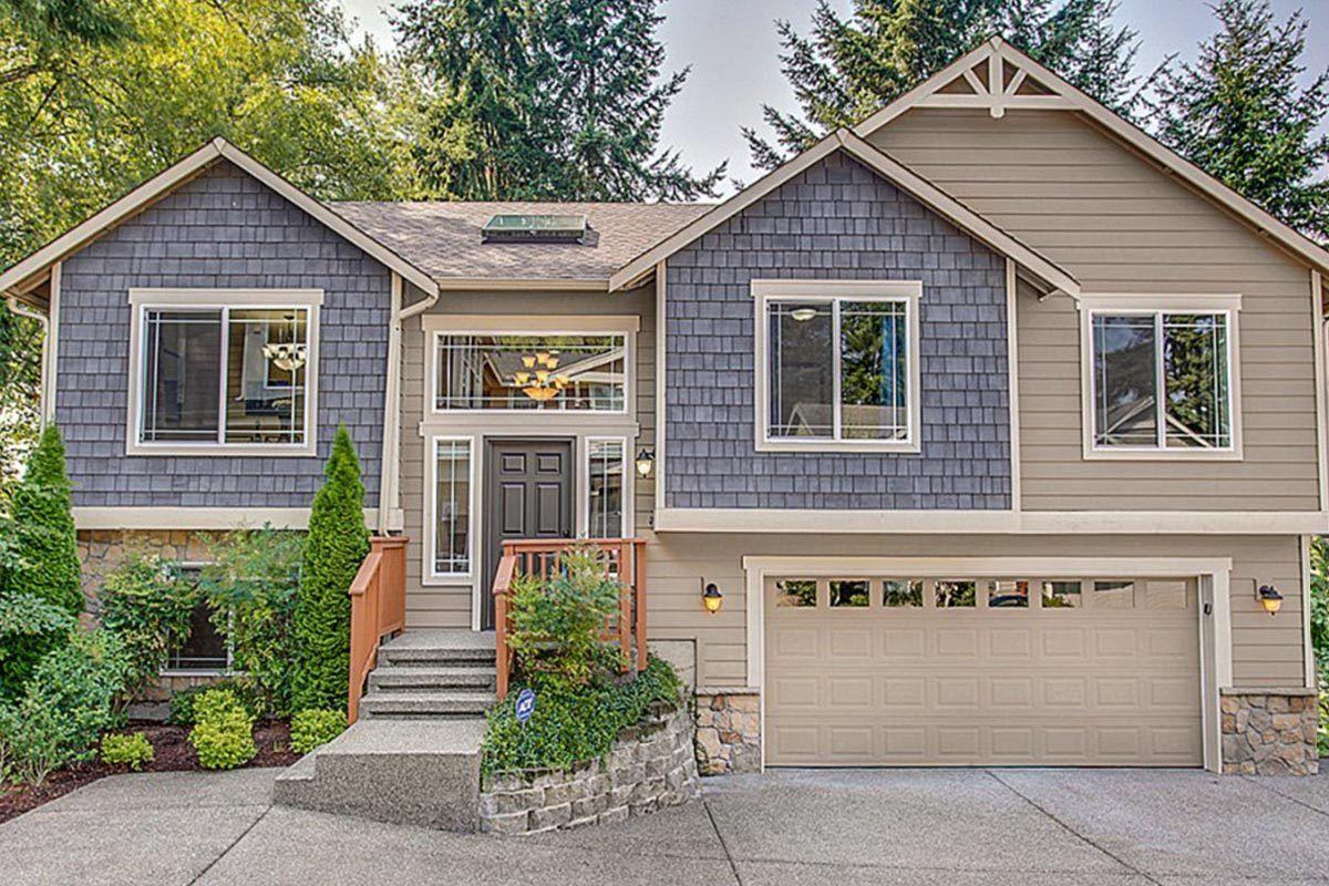 Spacious Split Level Home Plan  23442JD  Architectural Designs  House Plans