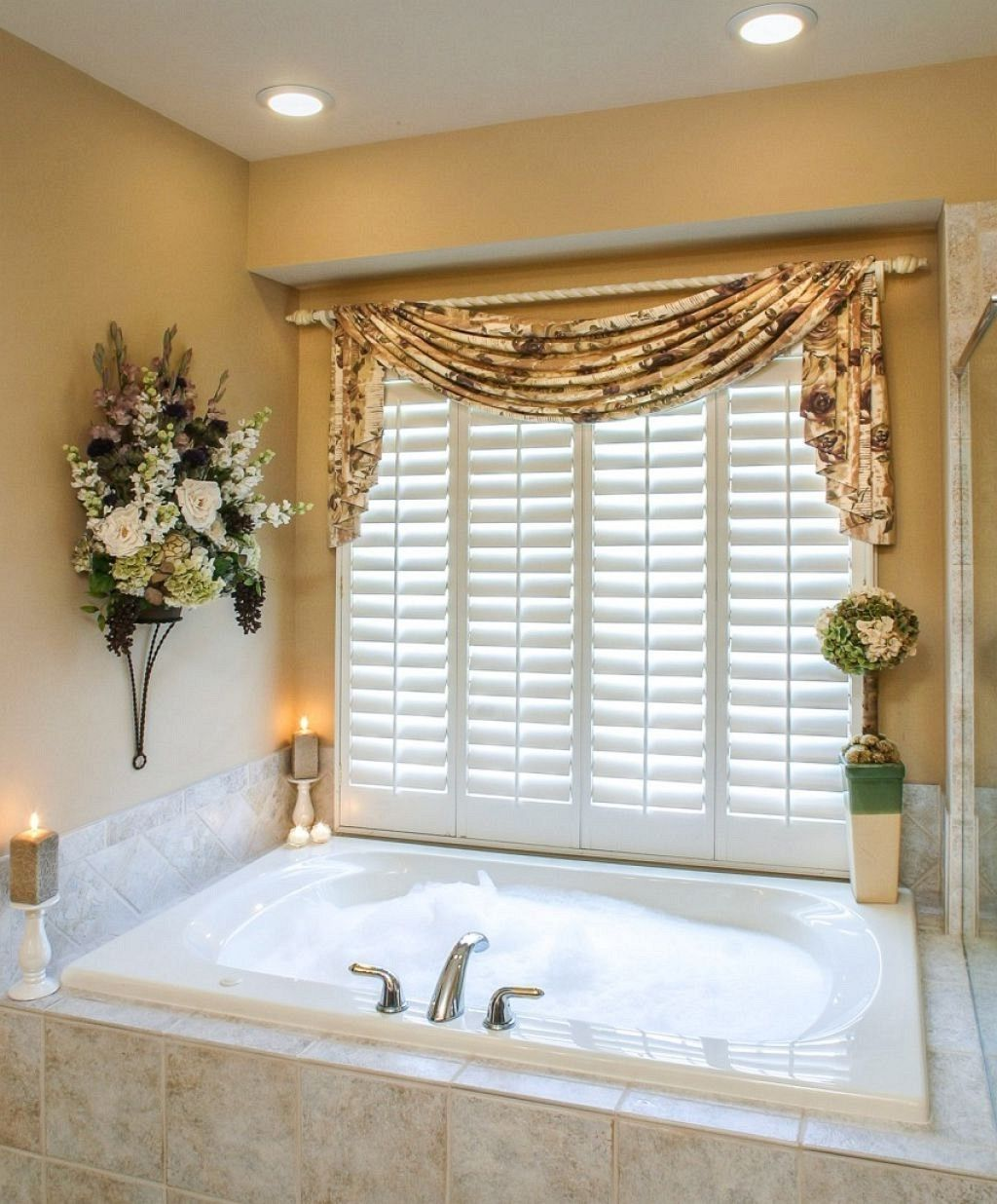 Window treatment ideas for master bathroom best family room
