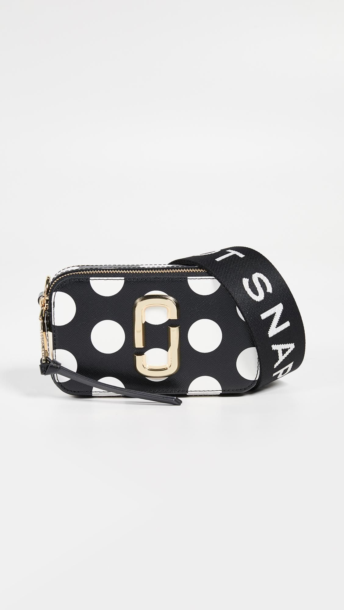 2a58b3b7fa Women's Black And White Dot Small Snapshot Camera Bag in 2019 ...