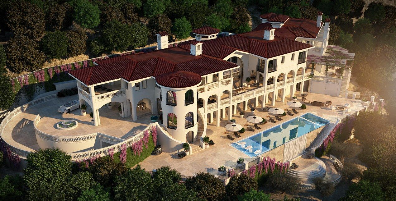 Most Expensive Homes For Sale In America Spanish Style Spanish