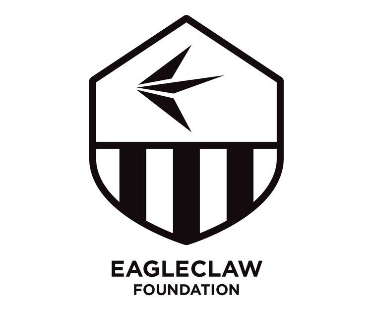 custom logo design for the eagleclaw soccer foundation by