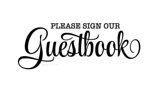 9d12b508e32 Wedding Decal - guestbook decal - bride and groom wedding reception decal -  make your own sign - welcome guests - wedding decals DIY - vinyl