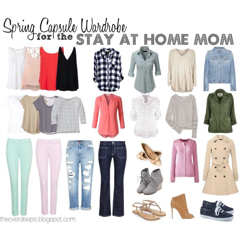 spring capsule wardrobe for the sahm theoverdeeps.blogspot