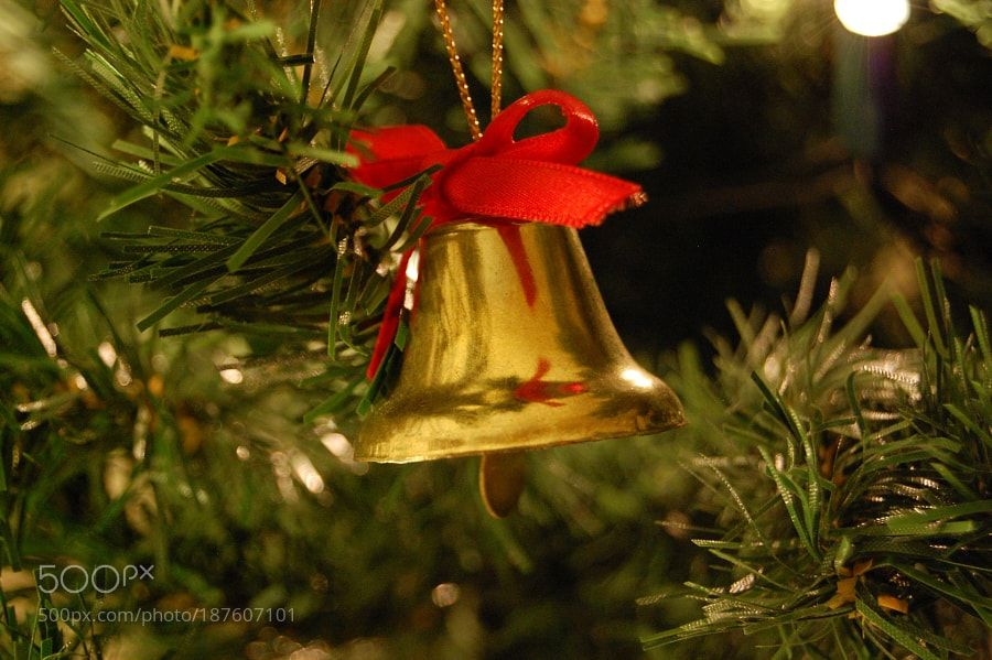 Christmas bells with christmas tree decorations by Dismond