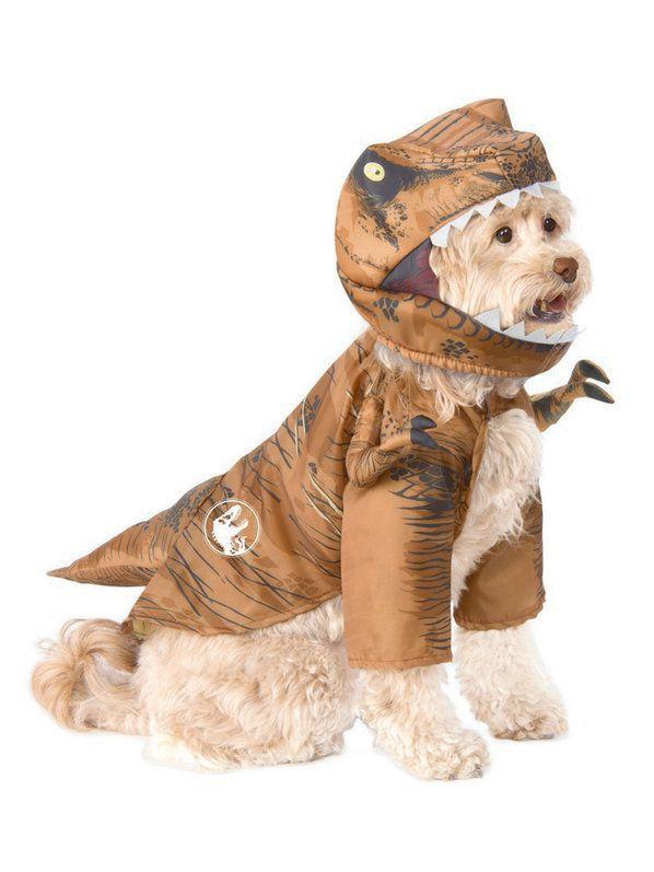 Check out Prehistoric Jurassic World TRex Pet Costume