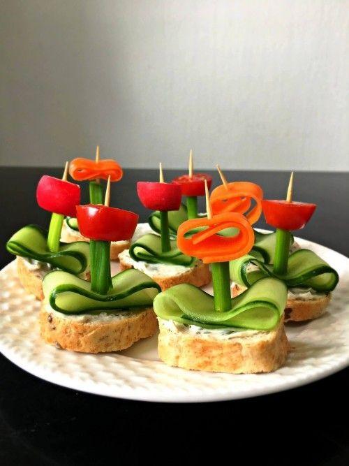 Leckere Ideen und Rezepte zum Oster Fingerfood Buffet selber machen sandwich mit... - Essen und Rezepte -
