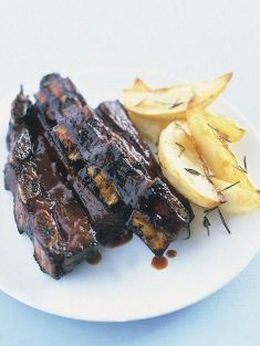 barbecued beef ribs,these have an awesome marinade