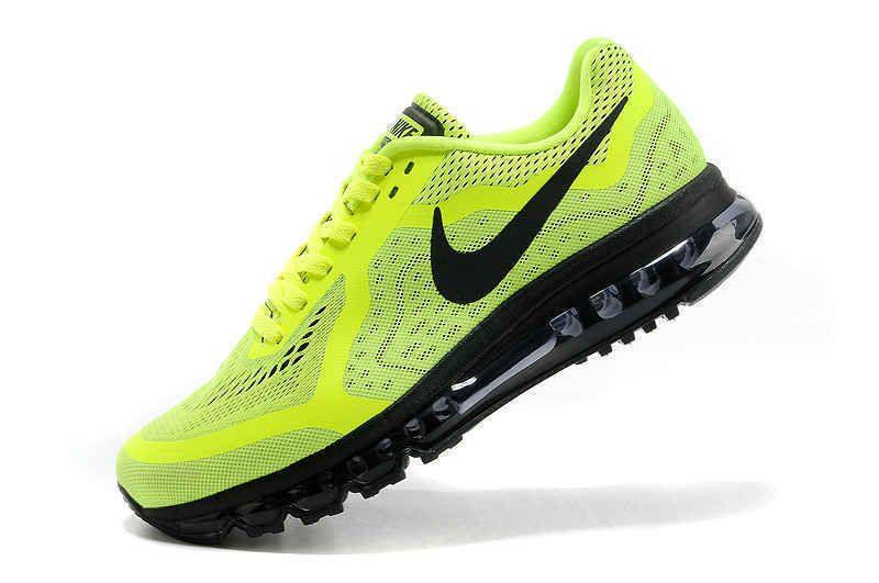 Nike Footwear Air Max 2014 Trainers Neon Green