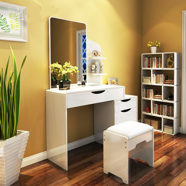 Dormitorio tocador tocador tocador moderno minimalista apartamento peque o mini tocador armario - Tocador moderno dormitorio ...