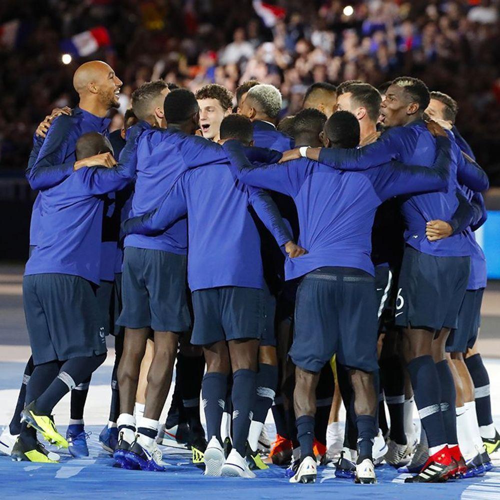 Les Bleus Au Stade De France Revivez La Célébration Des
