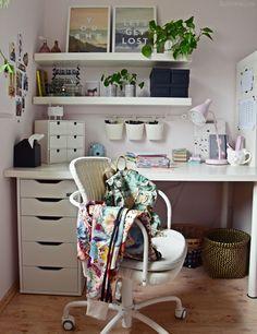 Interior | Teenager Mädchen Zimmer   Schreibtisch Deko | Luziapimpinella.com