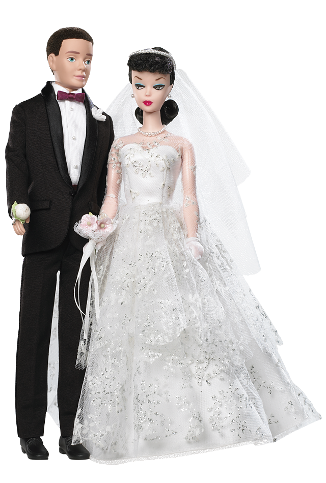 Wedding Day® Barbie® Doll and Ken® Doll Giftset | Barbie Collector ...