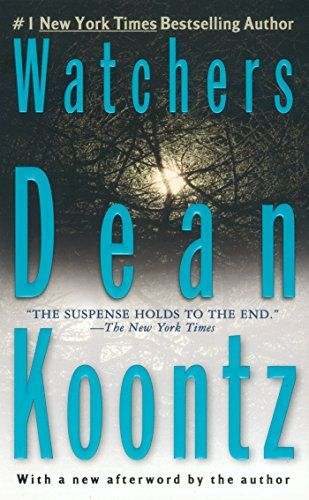 Watchers by Dean Koontz http://www.amazon.com/dp/B001974DG0/ref=cm_sw_r_pi_dp_BC57vb1Y1G1E8