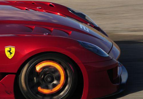 Glowing Hot Ferrari Brakes Car Photos Car Ferrari 599