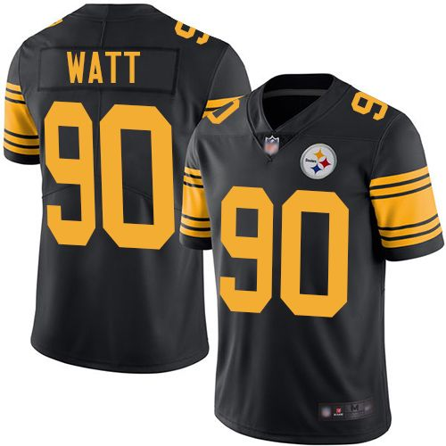 TJ WATT Pittsburgh Steelers #90 jersey all stitched Brand NEW Color Rush XL