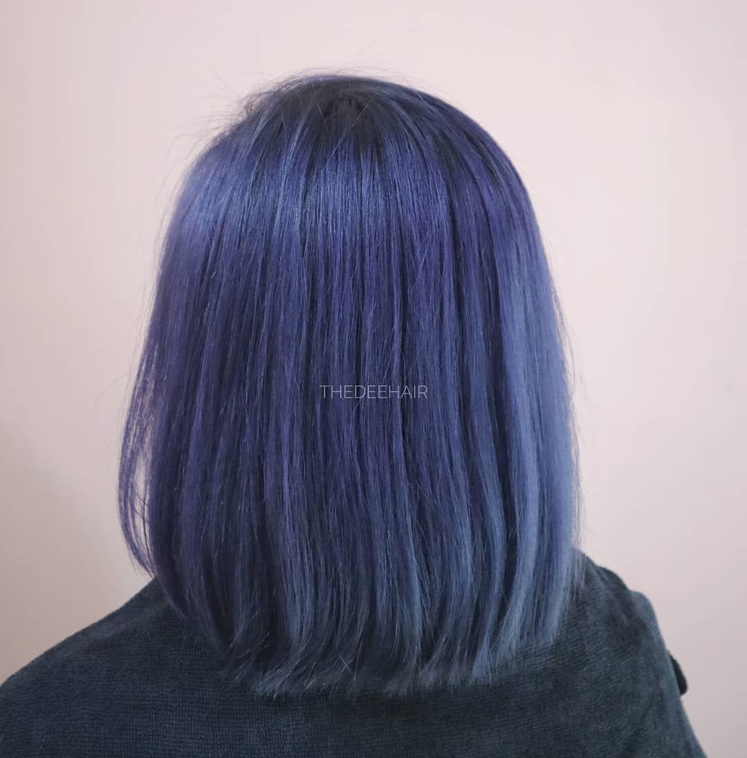 41 Stylish Hair Color Ideas To Copy Right Now Hair Color For Black Hair Hair Styles Denim Hair