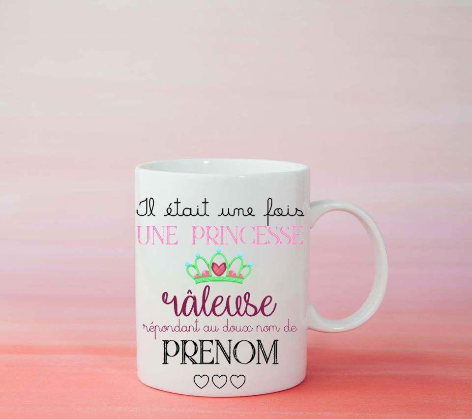 Mug Personnalis Princesse 356 Mugs Pinterest France Atelier
