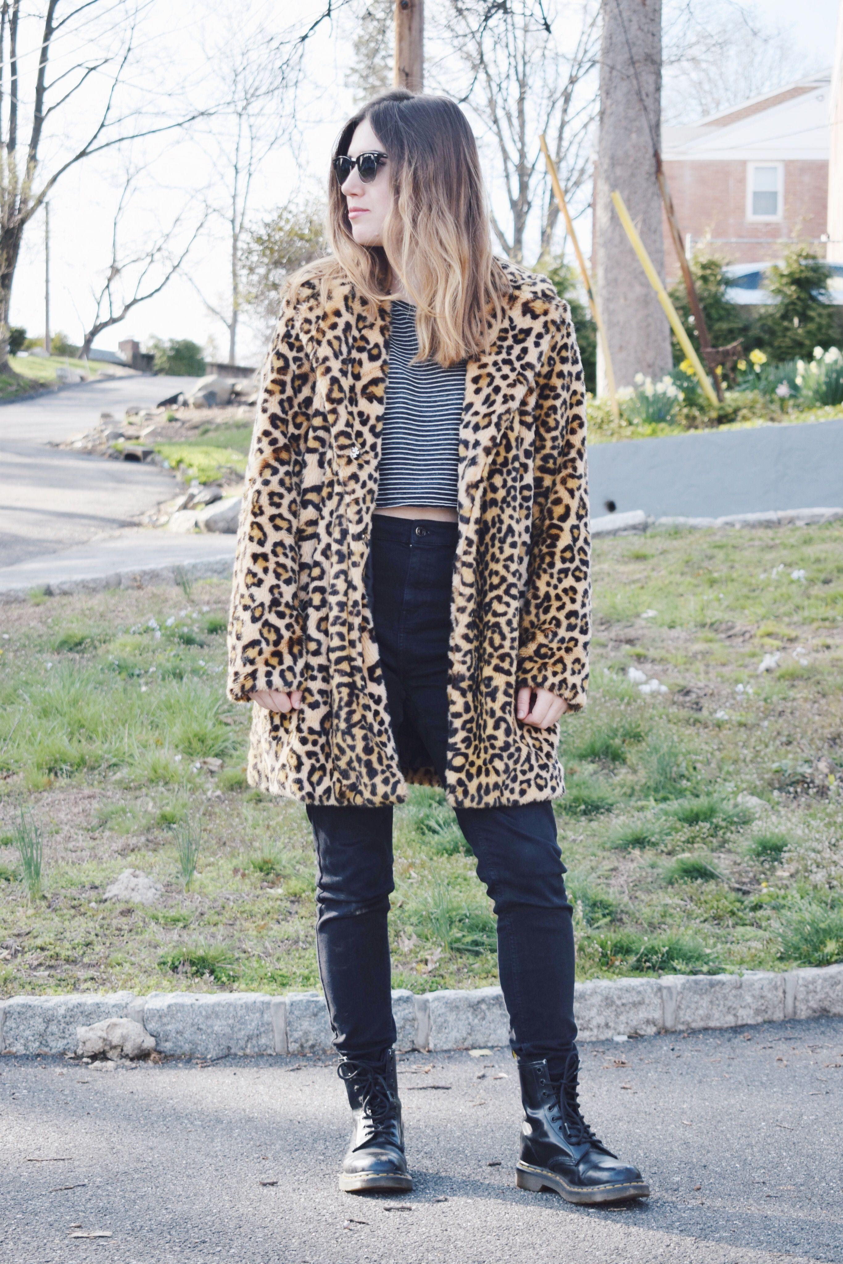 How to Mix Stripes with Leopard Print - No Repeats or Hesitations