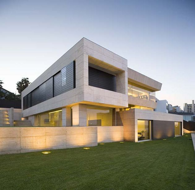 Ultra Modern Home Exteria: House In Galicia By A-cero Architects