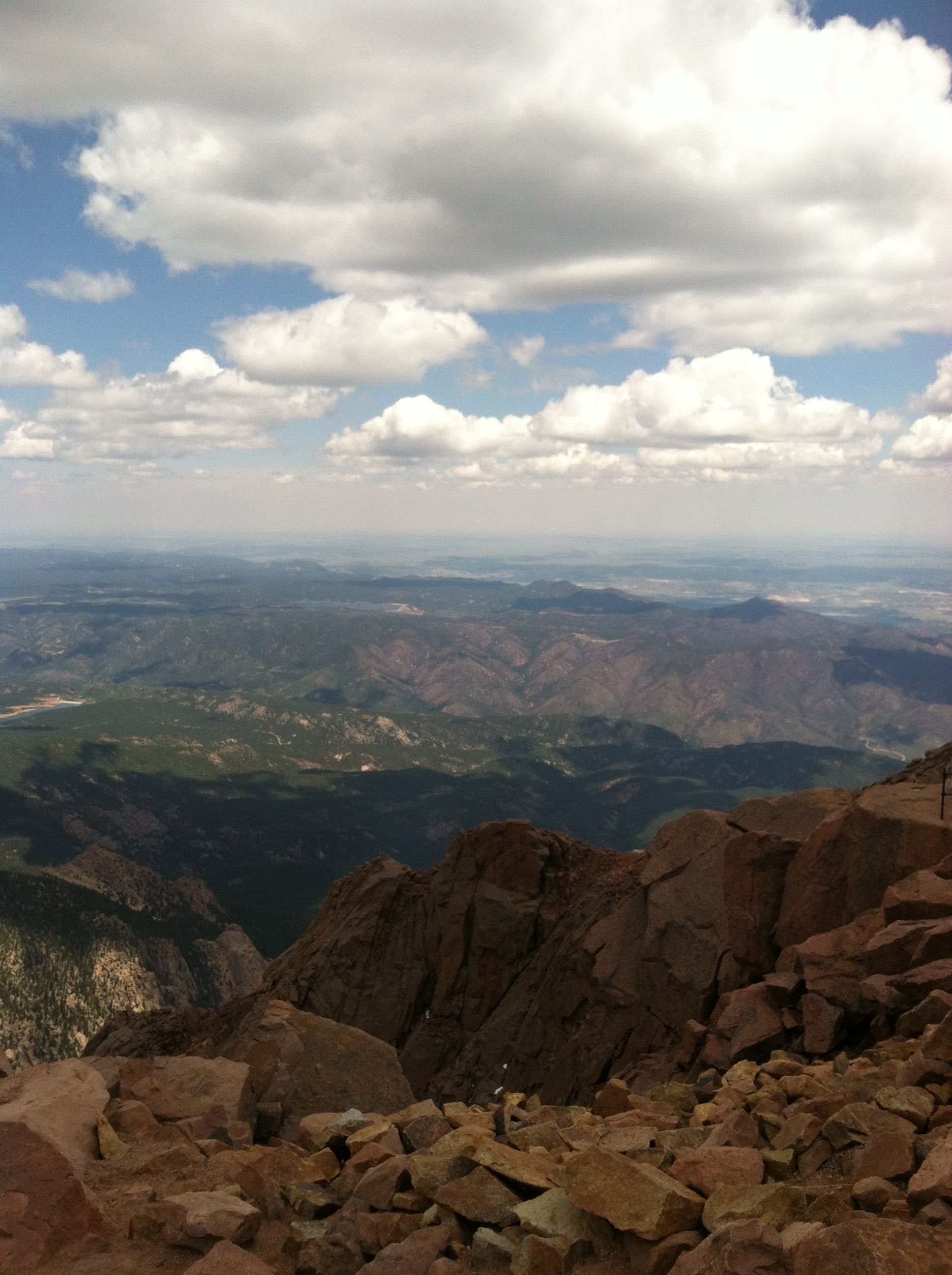 Pikes Peak Colorado Springs Colorado Amazing View Pikes Peak Natural Landmarks Places Ive Been