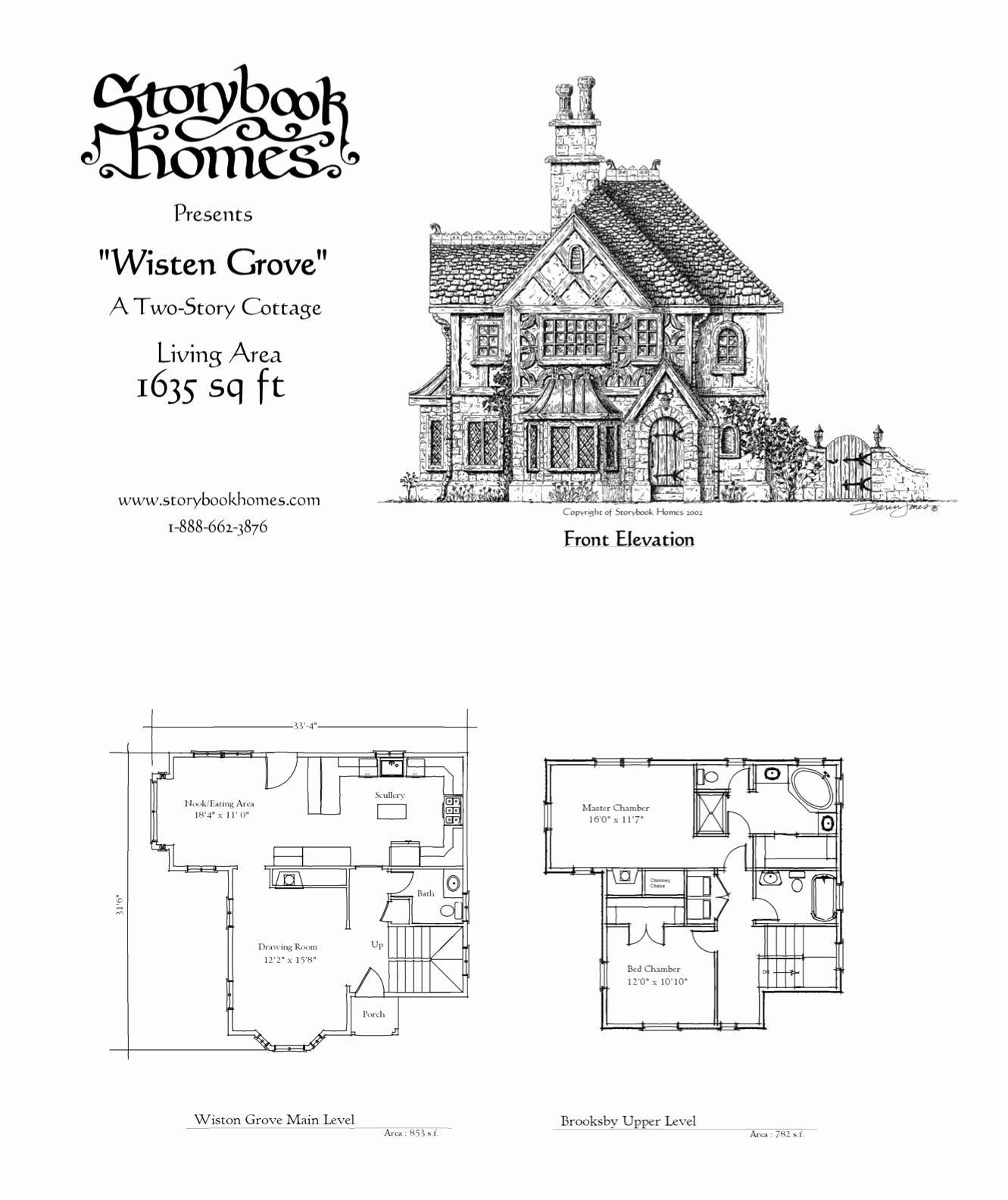 42 Plan Maison Victorienne Storybook Homes Storybook House Plan Cottage House Plans