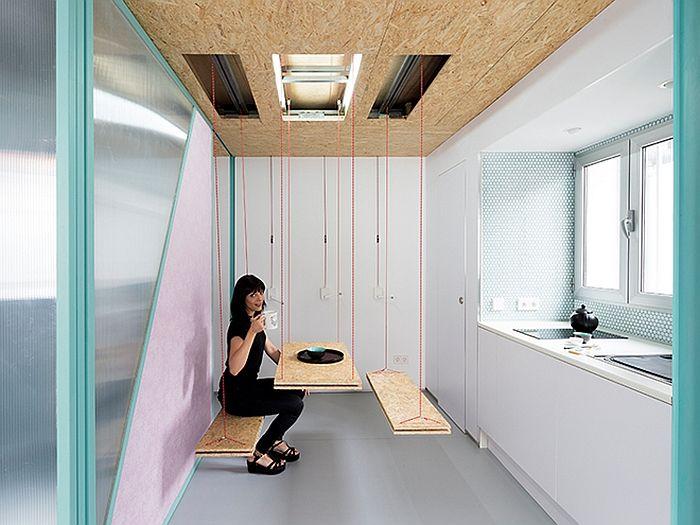 Diseño creativo #espacios_pequeños #small_places #tiny
