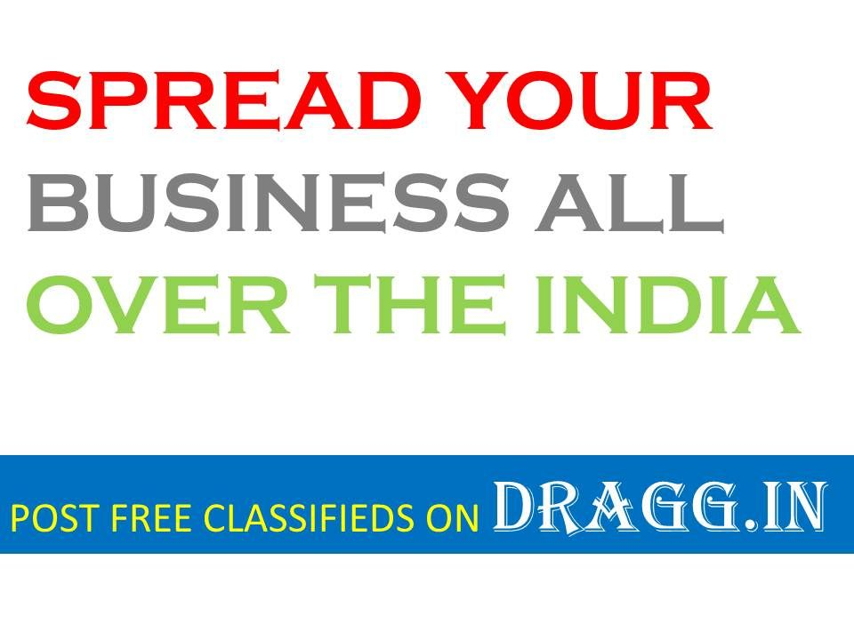 SPREAD YOUR BUSINESS ALL OVER THE INDIA WITH FREE CLASSIFIEDS ADS. POST YOUR BUSINESS HERE, WE PROMOTE YOUR BUSINESS ALL OVER THE INDIA.