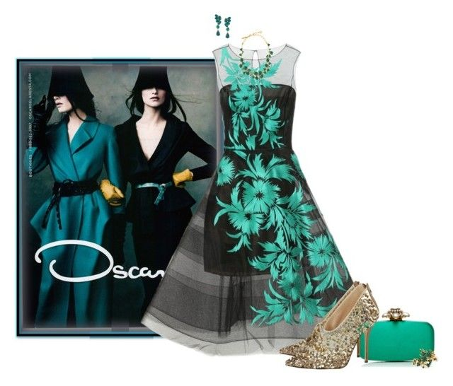 """All Oscar"" by chileez ❤ liked on Polyvore featuring Oscar de la Renta, women's clothing, women, female, woman, misses and juniors"