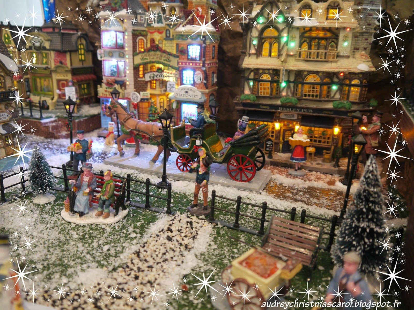 Lemax christmas village display 2014 village de no l lemax2014 visit our christmas blog on - Village de noel miniature ...