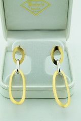 14K Gold & Silver Hoop Earrings ~ Fine Jewelry & Engagement Rings | Salisbury, MD | Kuhn's Jewelers