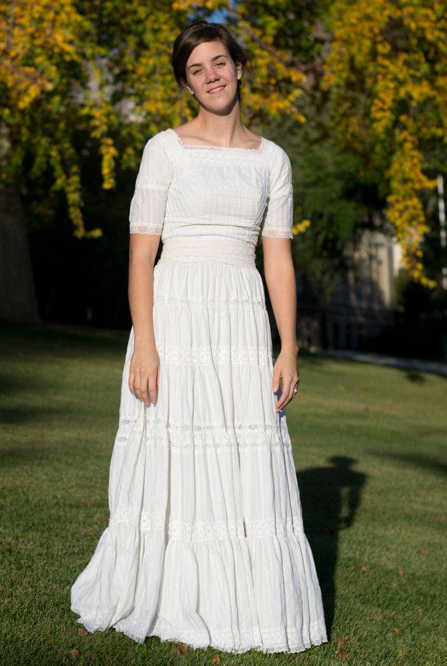 Vintage Mexican Wedding Dress, via Etsy. | fashion | Pinterest ...
