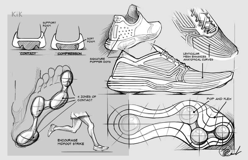 Kik Laboratory Our Work In 2020 Shoe Design Sketches Sneakers Drawing Sneakers Sketch