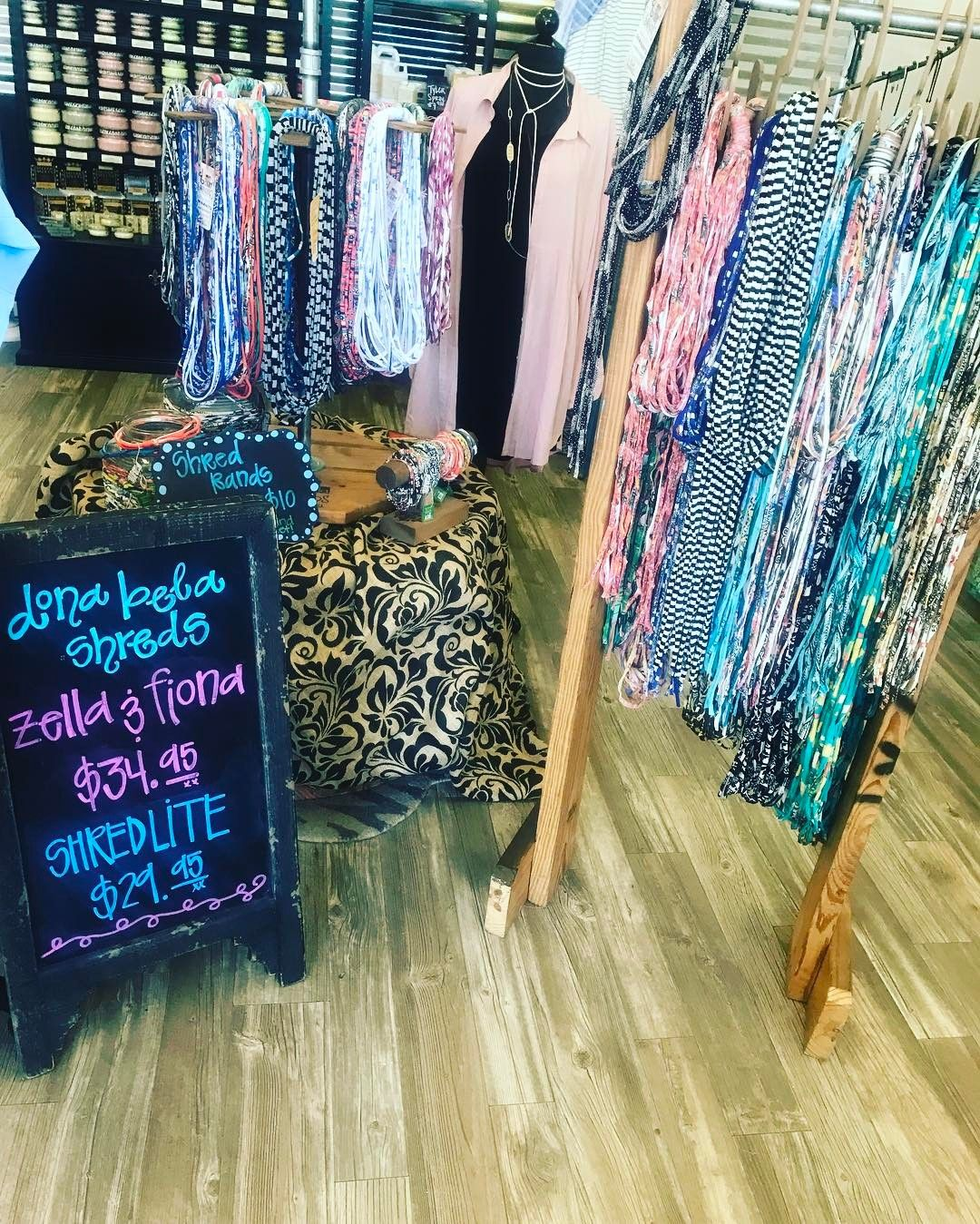Spring #musthaves ...... Dona Bela Shreds! Forget a light scarf or necklace! Let the Shreds add to your wardrobe! Tons to choose from! Stop and see us! . . 1030-530 200 Bell Lane WM 318.884.7467 #thefleurtygingerboutique #northlouisianasplussizeheadquarters #shoptfgb #shoplocal