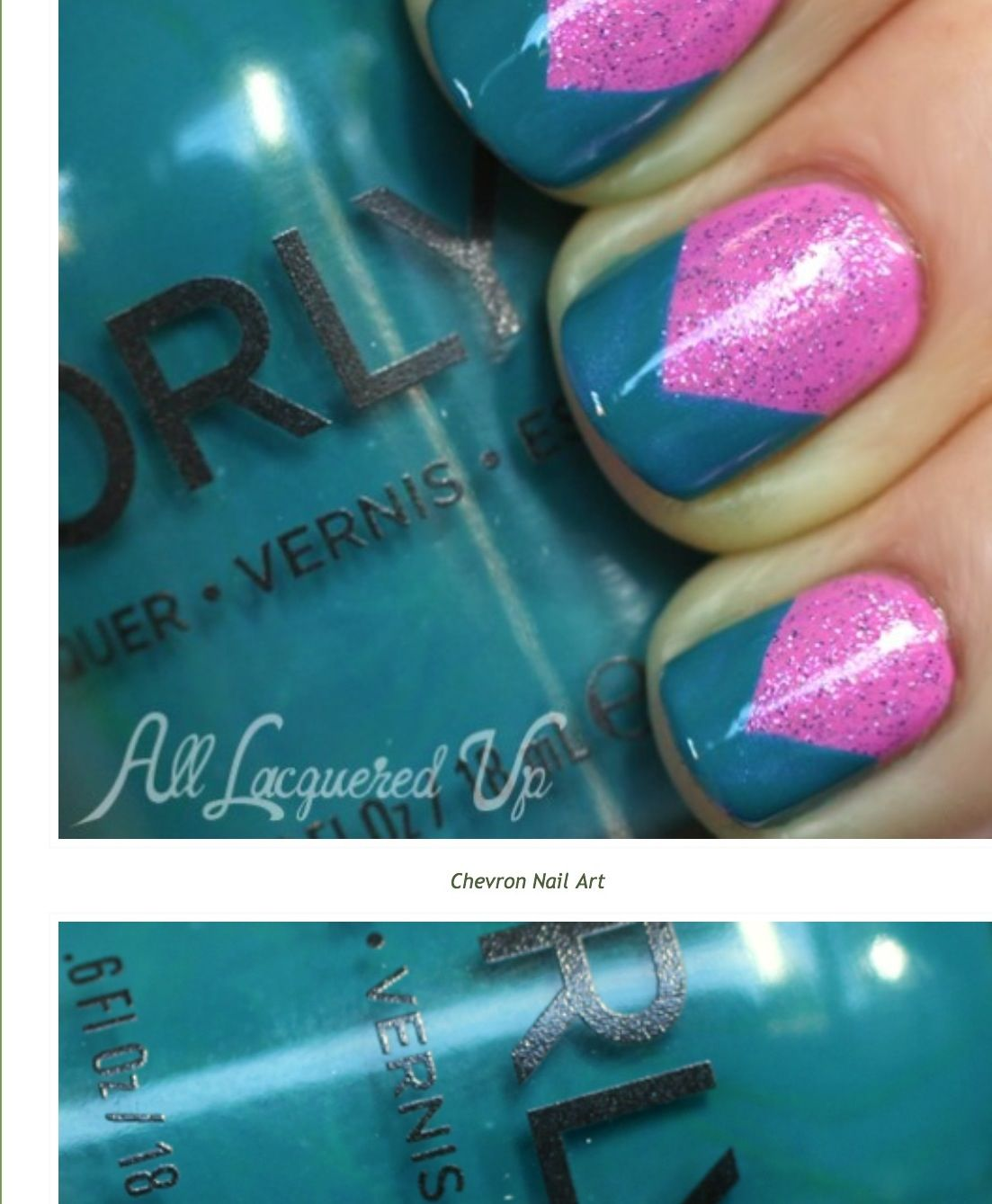 Orly Fall 2013 collection: pink waterfall, pixie powder, and teal ...