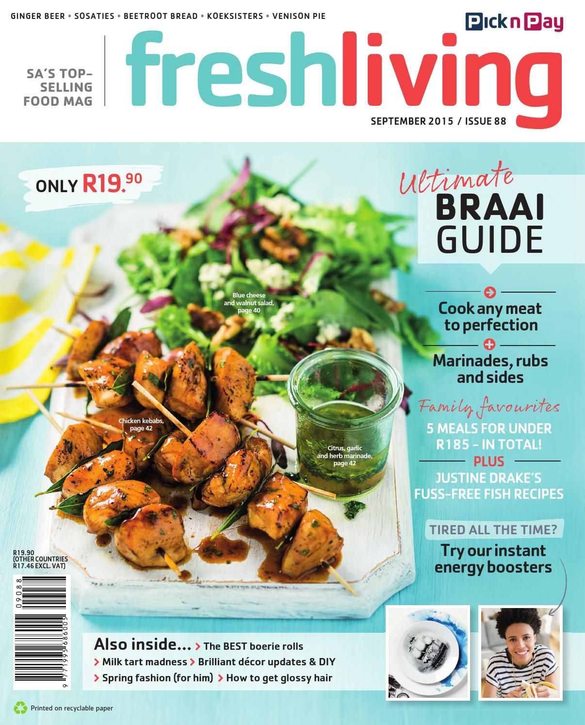 September 2015 Recipes >> Fresh Living September 2015 Recipes And Food