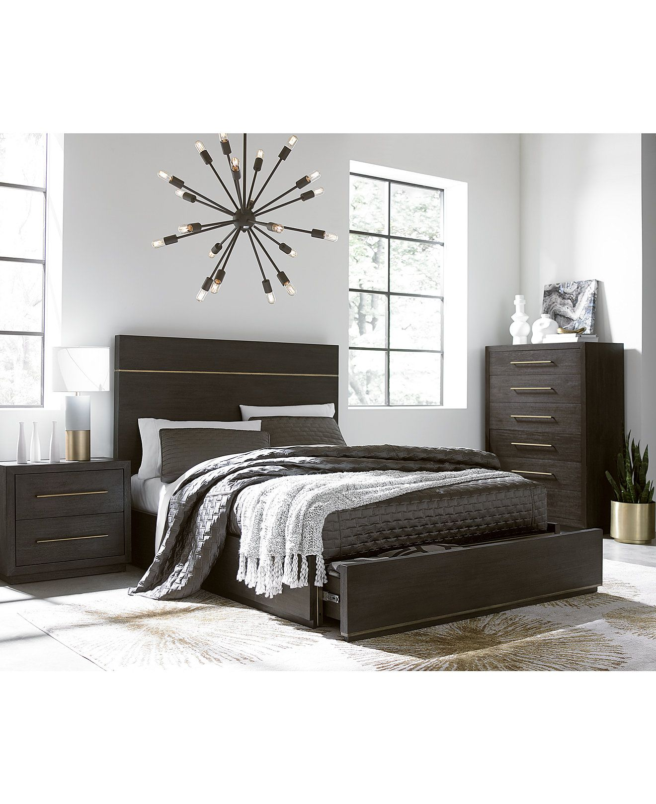 Furniture Cambridge Storage Platform Bedroom Furniture Collection