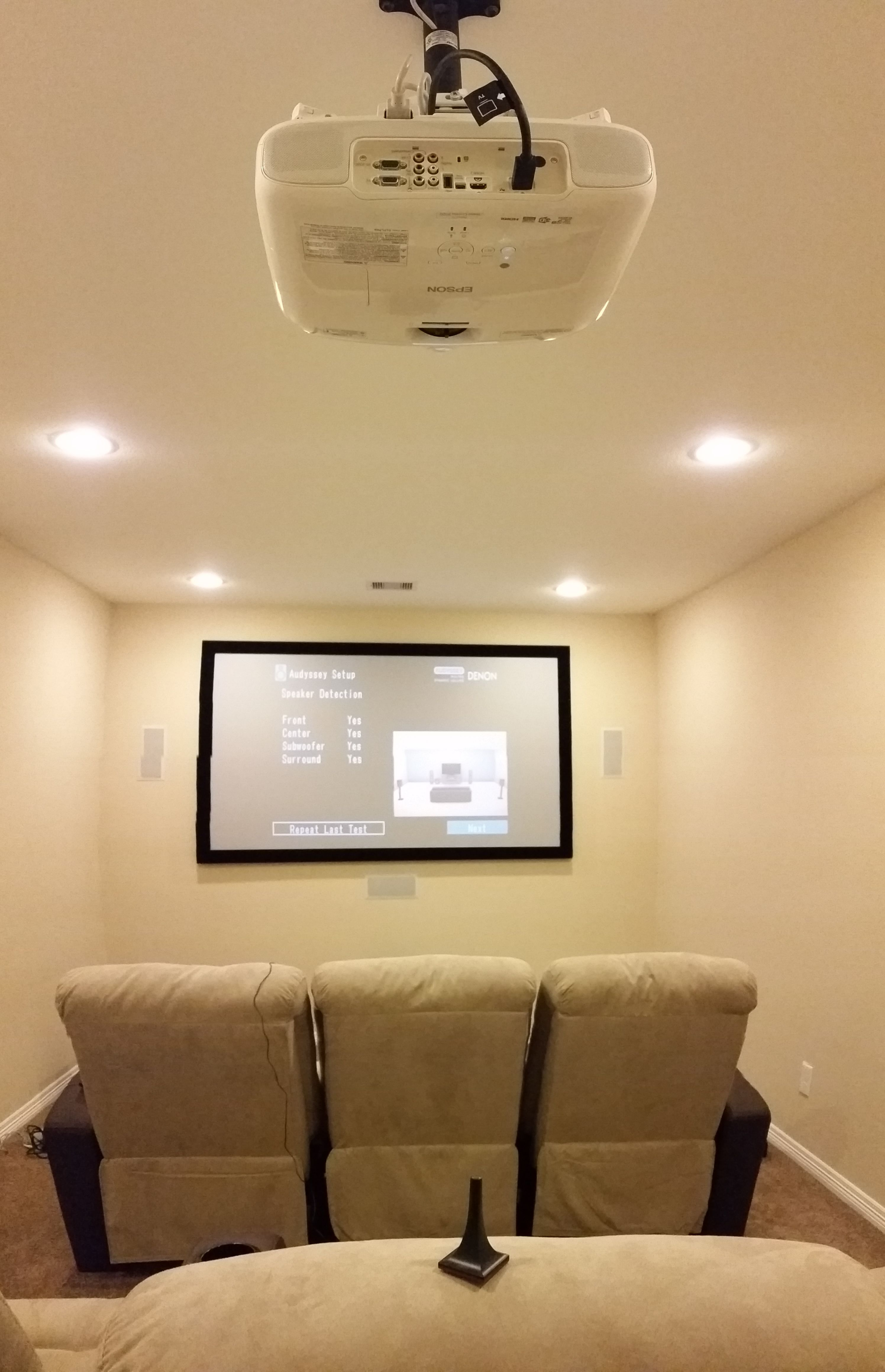 Custom Home Theater, Design And Install Ultra 4K High Resolution