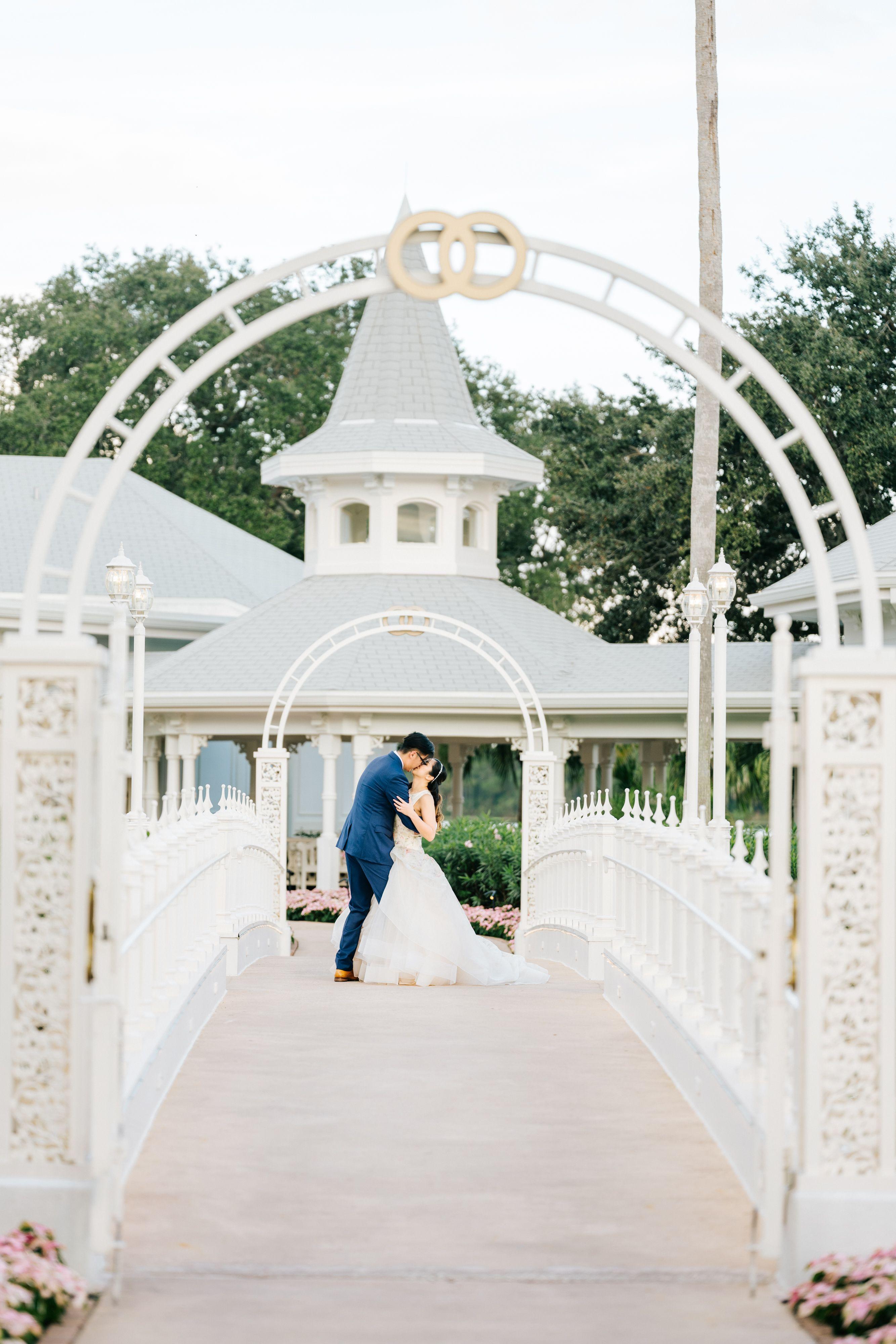 Disneys wedding pavilion wedding photography grand