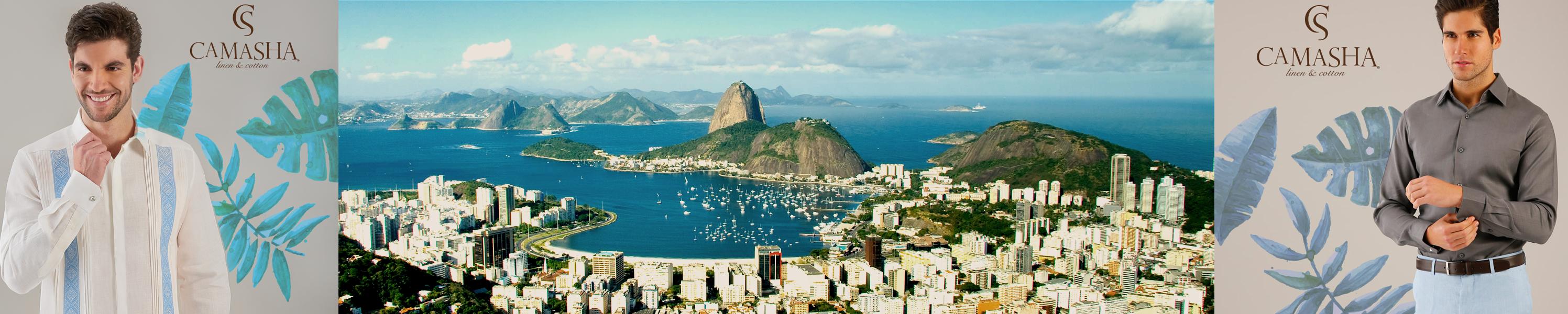 El mejor match: Rio&Camasha. Lucirás fresco y elegante en esta hermosa ciudad con cualquier de los outfits Camasha.