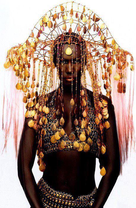 Voodoo headdresses - something perceived so deadly can be so beautiful..