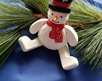 Movable Snowman | Etsy
