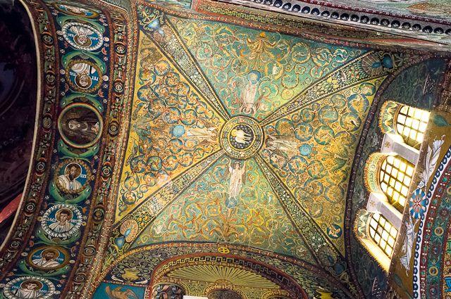 """Incredible mosaics in Basilica di San Vitale"" by @asgeirheart Pedersen, via Flickr"