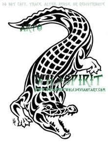41b8e92853d18 Crocodile Tattoo Tribal | Love | Crocodile tattoo, Tattoos ...