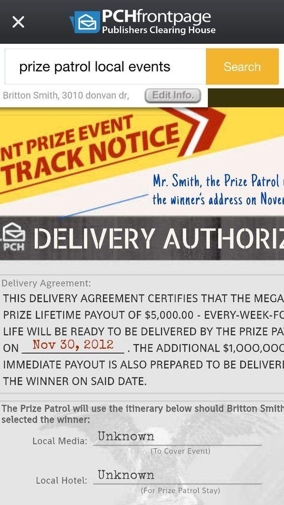 prize event antonio clark detroit Publisher clearing