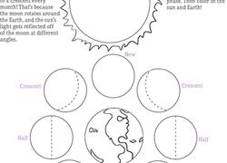 Earth & Space Science Worksheets & Free Printables