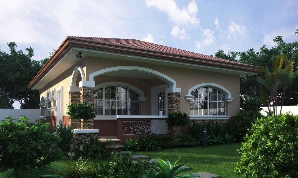 Inspirational Single Storey House Small House Design Philippines Beautiful House Plans Village House Design