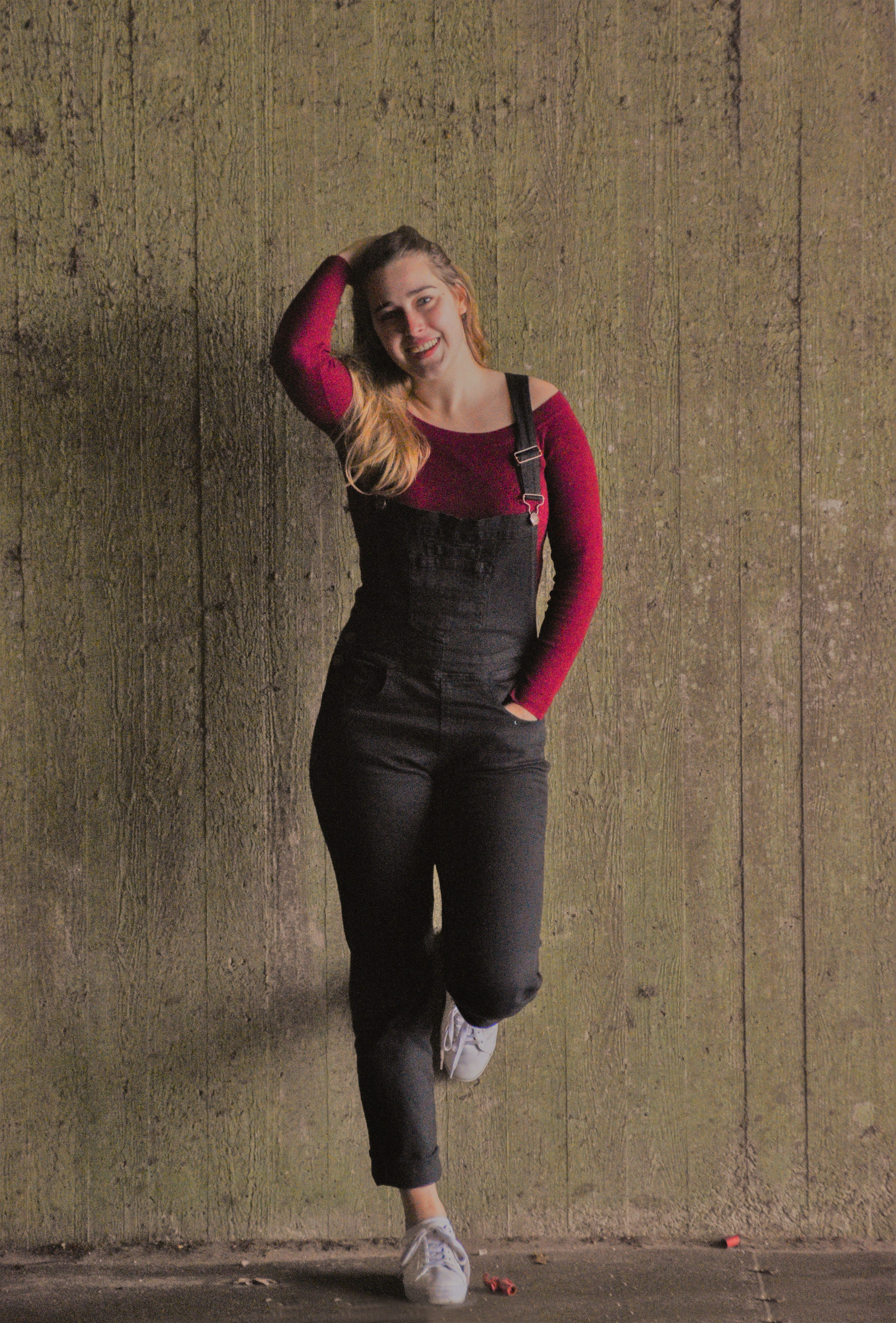 f35198a6ea2 USKEES Black Bib Overalls with a relaxed feel that makes them ideal for  everyday wear.