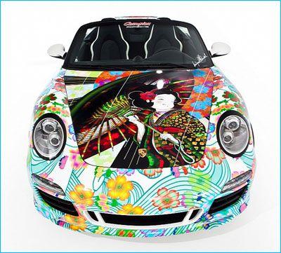 "Porsche 911 Speedster ""Tattooing"""