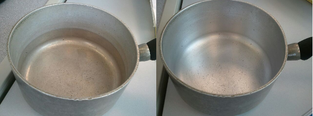 Removing Discoloration From Aluminum How To Clean